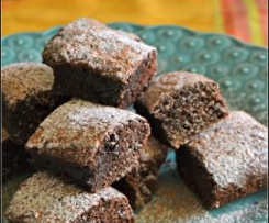 Brownies de chocolate mexicanas