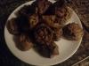 Bolinho de batata doce e frutos secos
