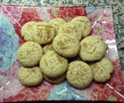 Biscoitos de gengibre e erva doce