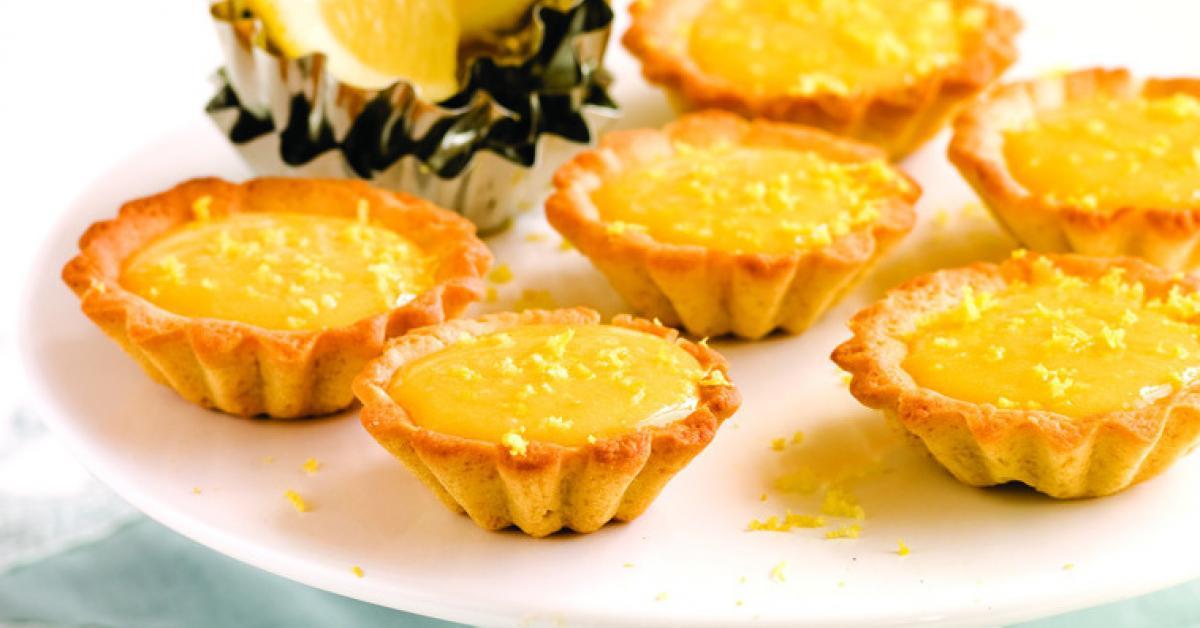 Tarteletes de lemon curd