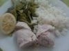 Bifinhos de perú enrolados (receita light)