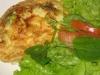 Omelete de atum a vapor
