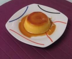 Pudim flan Mandarin adaptado à Bimby