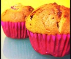 Muffins de Framboesa e Chocolate Branco