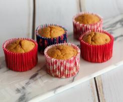 Muffins de Maçã Cozida e Canela