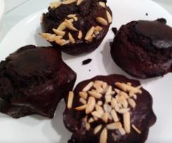 Muffins de chocolate saudáveis