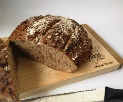 Pão integral de centeio