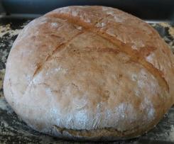 Pão saloio da Cláudia