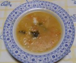 Sopa de peixe espada