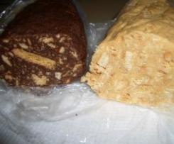 Salame Chocolate Preto ou Branco