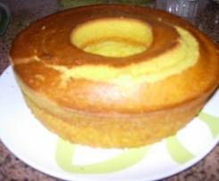 Bolo de maçã e limão