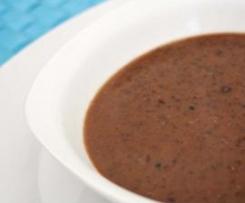 Sopa Mexicana de Feijão Preto