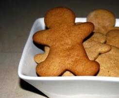 Gingerbread Man - Biscoitos de Gengibre