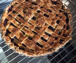 TARTE DE MIRTILOS (U.S.A. BLUEBERRY PIE)
