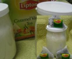 Iogurte Cha de Caramelo