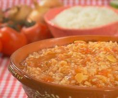 Arroz de tomate - Trás os montes