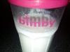 Iogurte sólido de gelatina