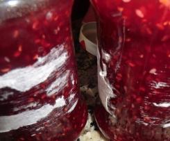 Doce de framboesa com sementes