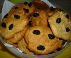 Biscoitos de Maçã e Passas