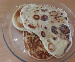 Pão Naan pão indiano