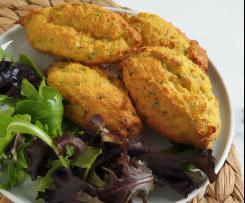 Pastéis de bacalhau saudáveis (no forno)