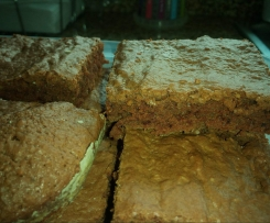 Brownie de chocolate com nozes moidas
