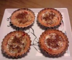 Tarteletes /Tarte de doce de morango com lemon curd
