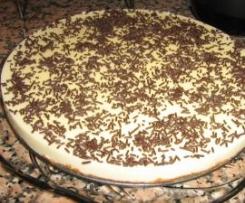 Tarte de chocolate branco