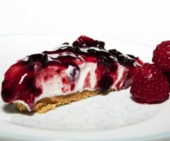 Cheesecake de Cerejas Pretas