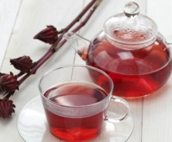 Chá de Hibisco (chá para emagrecer)
