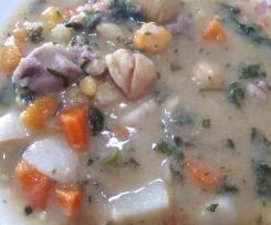 Sopa de castanha