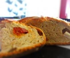 Pão com Tomate Seco & Queijo Feta