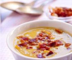 Sopa de Castanhas e Alho Francês