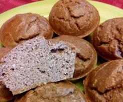 Muffins de Banana e Coco Proteícos