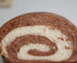 Pão de Leite. Com Chocolate