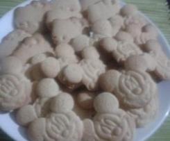 Biscoitos Laranja ou Limão