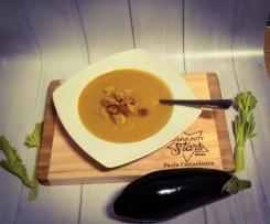 Sopa de Aipo, Beringela e Cenoura