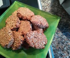 Cookies de aveia, banana e maçã