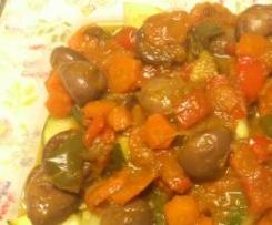 Legumes estufados