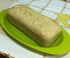 Pão de forma sem côdea Integral