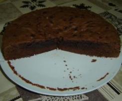 Quadrados de Chocolate - Versão forma redonda.