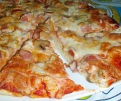 Pizza Carbonara a La Cipriano