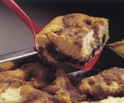 Bolo Cratera de Pepitas de Chocolate