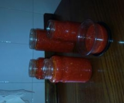 Pasta de pimentos para temperos