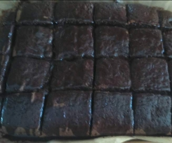 Bolo Molhadinho de Chocolate