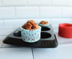 Muffins de Banana e Chocolate (só com 1 Ovo)