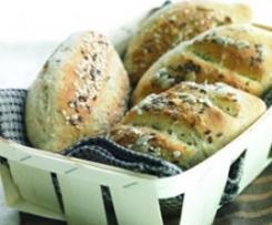 Pão integral com sementes