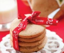Biscoitos de canela e gengibre