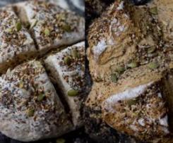 Pão de Soda e 6 Sementes