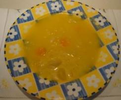 Sopa de repolho sem batata
